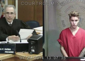 Justin Bieber has appeared in a Miami court accused of driving under the influence of alcohol, marijuana and prescription drugs