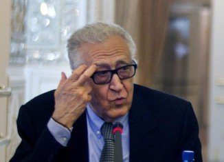 Lakhdar Brahimi is optimistic despite slow progress at Geneva talks on Syria