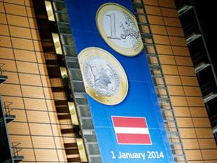 Latvia became the 18th member of the group of EU states which uses the euro as its currency