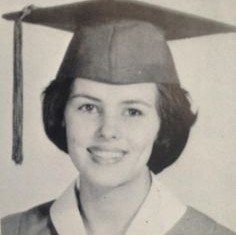 Miss Kay Robertson was voted Class Beauty in high school