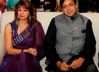 Shashi Tharoor and Sunanda Pushkar became embroiled in controversy over a series of Twitter messages that appeared to reveal he was having an affair