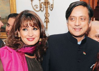Shashi Tharoor is being treated at the same hospital where his wife Sunanda Pushkar's post-mortem examination is to be carried out in a few hours