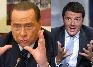 Silvio Berlusconi has agreed with centre-left rival Matteo Renzi over a reform deal