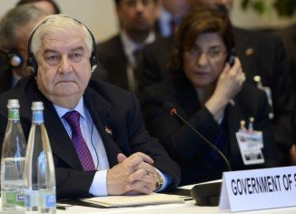 Syrian government delegation has said the main issue of the Geneva talks is finding a solution to foreign-backed terrorism