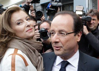Valerie Trierweiler has been admitted to hospital after media reports of an alleged affair involving President Francois Hollande