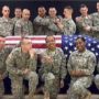 Photo of soldiers clowning around flag-draped casket sparks outrage