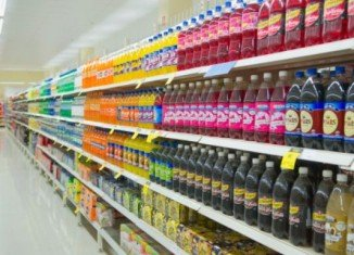 California new bill would require the warning on the front of all beverage containers with added sweeteners that have 75 or more calories in every 12 ounces