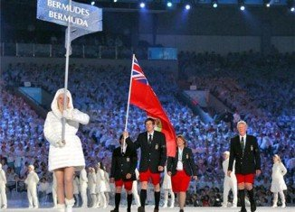 Despite temperatures below 40 F, Team Bermuda made its appearance at Sochi Winter Games Opening Ceremony rocking the namesake leg garment of their nation