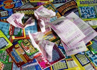 Jerry Kajfasz of Lancaster won a $10 million jackpot from a $20 scratch-off ticket he purchased last month at a suburban Buffalo store