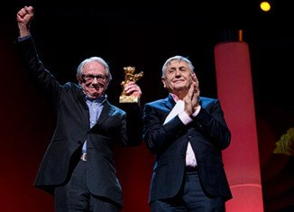 Ken Loach won an Honorary Golden Bear at the Berlin Film Festival