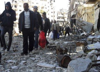 More than six hundreds civilians have been evacuated from the rebel-held Old Quarter of Homs