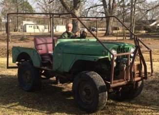 Phil Robertson's 1974 Jeep has been bought by Jerry Gentry of Chatham four years ago