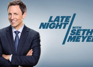 Seth Meyers began his first episode of Late Night with a quick tribute to Jimmy Fallon
