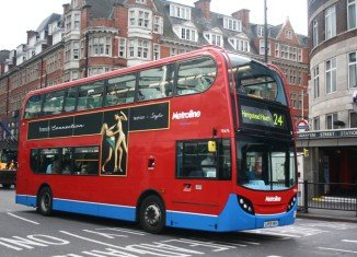 The iconic London's buses are to become cashless from this summer