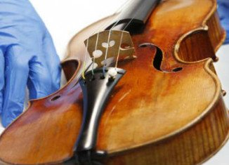 The rare Stradivarius was stolen on January 27 from the Milwaukee Symphony concertmaster