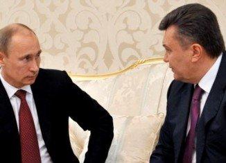 Vladimir Putin met his Ukrainian counterpart Viktor Yanukovych on the sidelines of the Winter Olympics