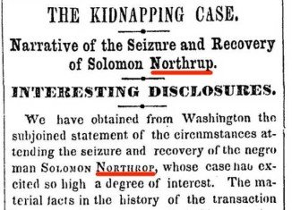 After 161 years, the New York Times has published a correction to an article on the case portrayed in the Oscar-winning film 12 Years a Slave