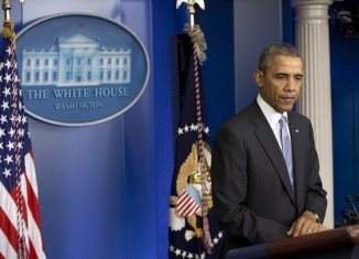 Barack Obama has warned Russia against any military intervention in Ukraine