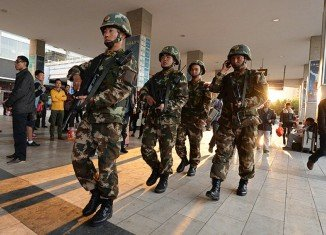 Chinese police captured three suspects involved in Saturday's deadly mass knife attack at Kunming railway station