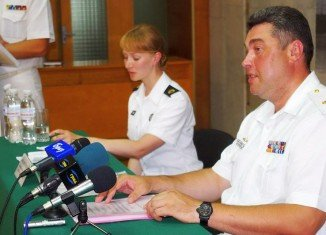 Denis Berezovsky was appointed as commander-in-chief of the navy by President Oleksandr Turchynov on March 1st, 2014