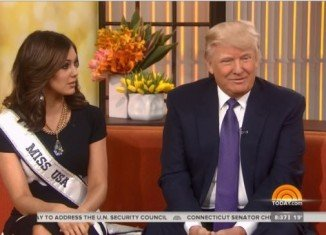Donald Trump appeared on The Today Show to promote his 2014 Miss USA pageant, when the conversation turned to Barack Obama