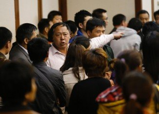 Families of the Chinese passengers on the missing Malaysia Airlines flight MH370 have threatened a hunger strike if the Malaysian authorities fail to provide more accurate information