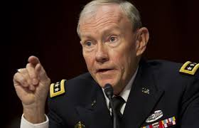 Gen. Martin Dempsey said the vast majority of documents taken by Edward Snowden were military-related