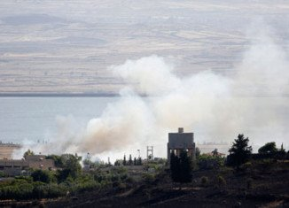 Israel has attacked several Syrian military sites in retaliation for a bombing that wounded four of its troops in the occupied Golan Heights