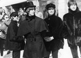 Jackets worn by George Harrison and Ringo Starr in The Beatles' 1965 film Help! have fetched £115,000 at Liverpool auction