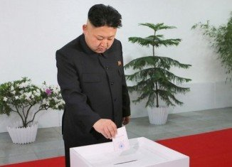 Kim Jong-un has been elected to North Korea's rubber-stamp parliament with a unanimous vote from his district