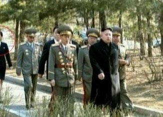 Kim Yo-jong accompanies her brother Kim Jong-un on touring campus of Kim Il-sung University of Politics in east Pyongyang