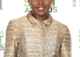 Lupita Nyong'o won an Independent Spirit award on Saturday for her debut movie role in 12 Years a Slave