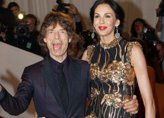 Mick Jagger led tributes at L'Wren Scott's private funeral in Los Angeles
