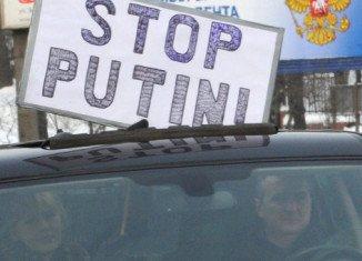 Moscow has blocked access to four anti-Putin websites.