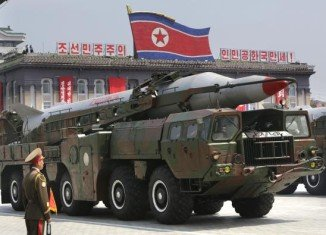 North Korea test-fired two medium-range Nodong missiles over the sea on Wednesday