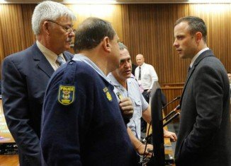 Oscar Pistorius has pleaded not guilty to intentionally killing girlfriend Reeva Steenkamp
