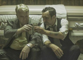 Philip Seymour Hoffman filmed God's Pocket last summer and had been promoting the drama at the Sundance Film Festival in Utah in January