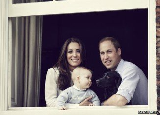 Prince George with his parents ahead of their Australia and New Zealand tour