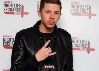 Professor Green has been charged with DUI