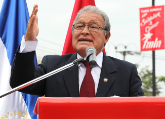 Salvador Sanchez Ceren would be the first ex-rebel to serve as El Salvador's president