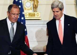 Secretary of State John Kerry and Russian Foreign Minister Sergei Lavrov are expected to meet on the sidelines of a long-planned conference on Lebanon in Paris