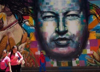 The first anniversary of Hugo Chavez's death is being marked in Venezuela