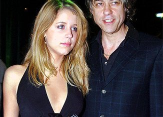 Bob Geldof paid an emotional tribute to his daughter Peaches