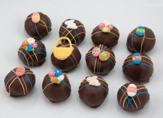 Easter Cake Balls