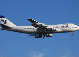 Iran Air is still flying passenger planes bought before the 1979 hostage crisis
