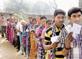 Polling began in part of in Chhattisgarh on April 10 and continues with two further rounds in the coming weeks