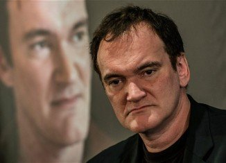 Quentin Tarantino was joined by Samuel L. Jackson, Bruce Dern and Michael Madsen in Los Angeles for a reading of his leaked script, Hateful Eight