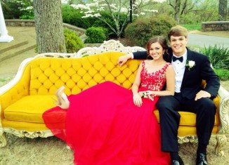 Sadie Robertson and Blake Coward attended the Madison Academy Junior Senior Banquet
