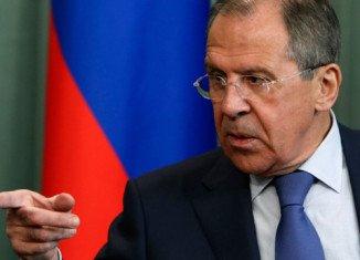 Sergei Lavrov has accused the Kiev authorities of breaking last week's Geneva accord on resolving the Ukraine crisis