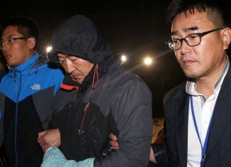Sewol's Captain Lee Joon-seok was arrested with two crew members